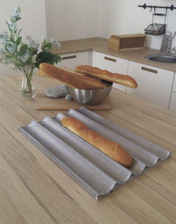 противень для хлеба, багет